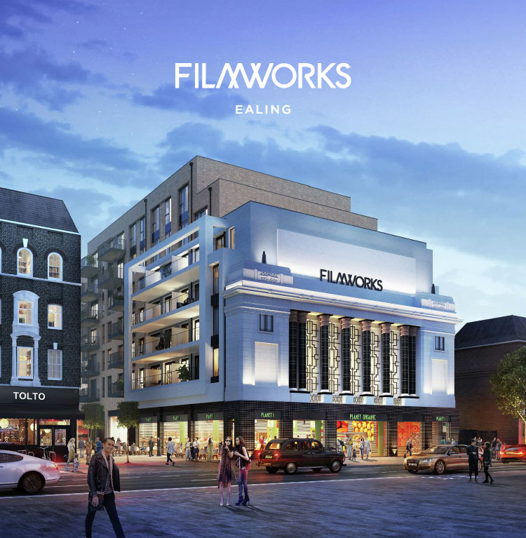 Filmworks Development in St George, Ealing